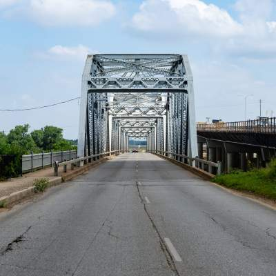 The Montopolis Steel Truss Bridge