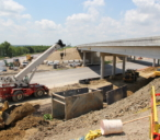 Drainage Installation at Springdale/Manor Road Interchange