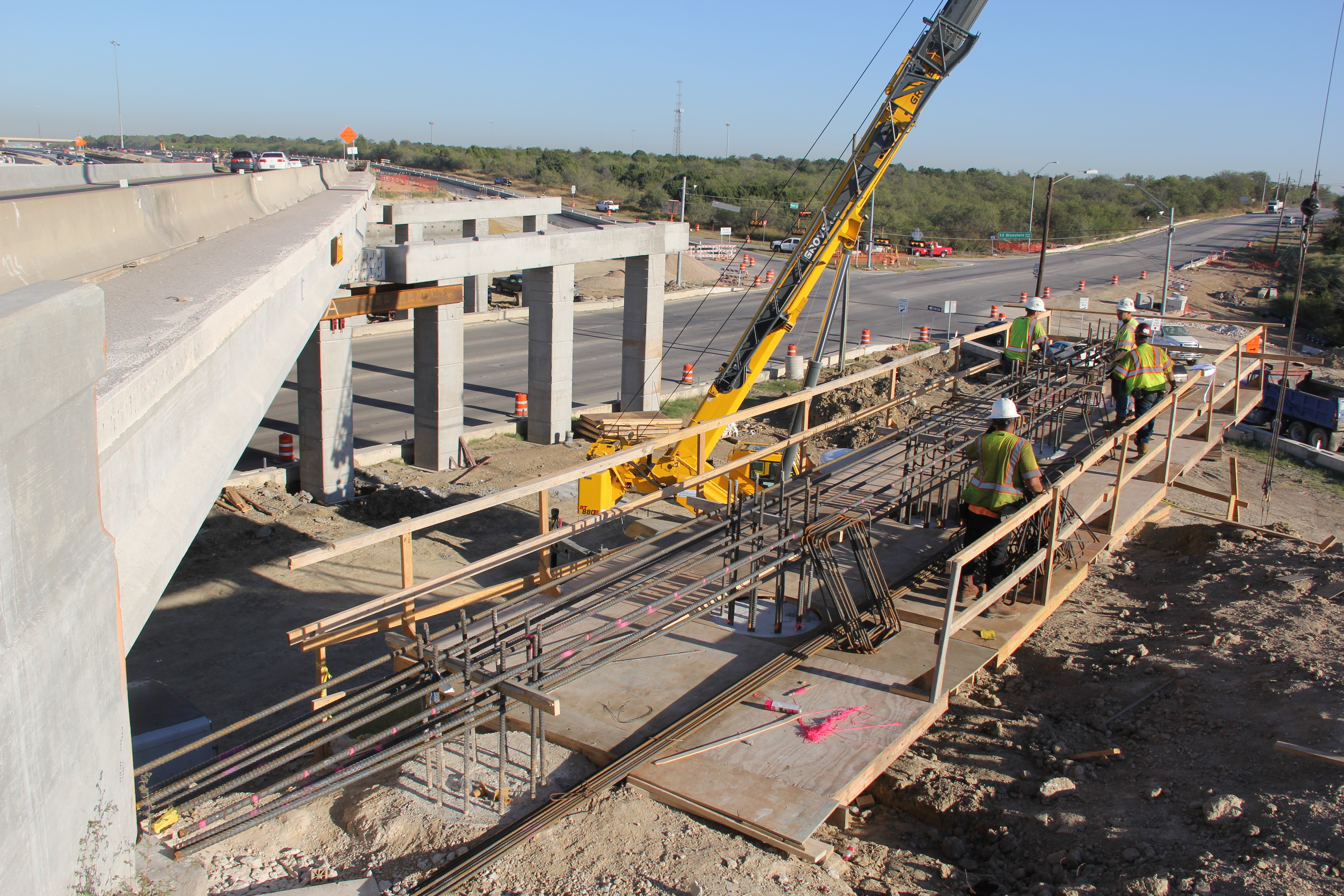 Northbound 183 Expressway Bridge Widening at Springdale Road