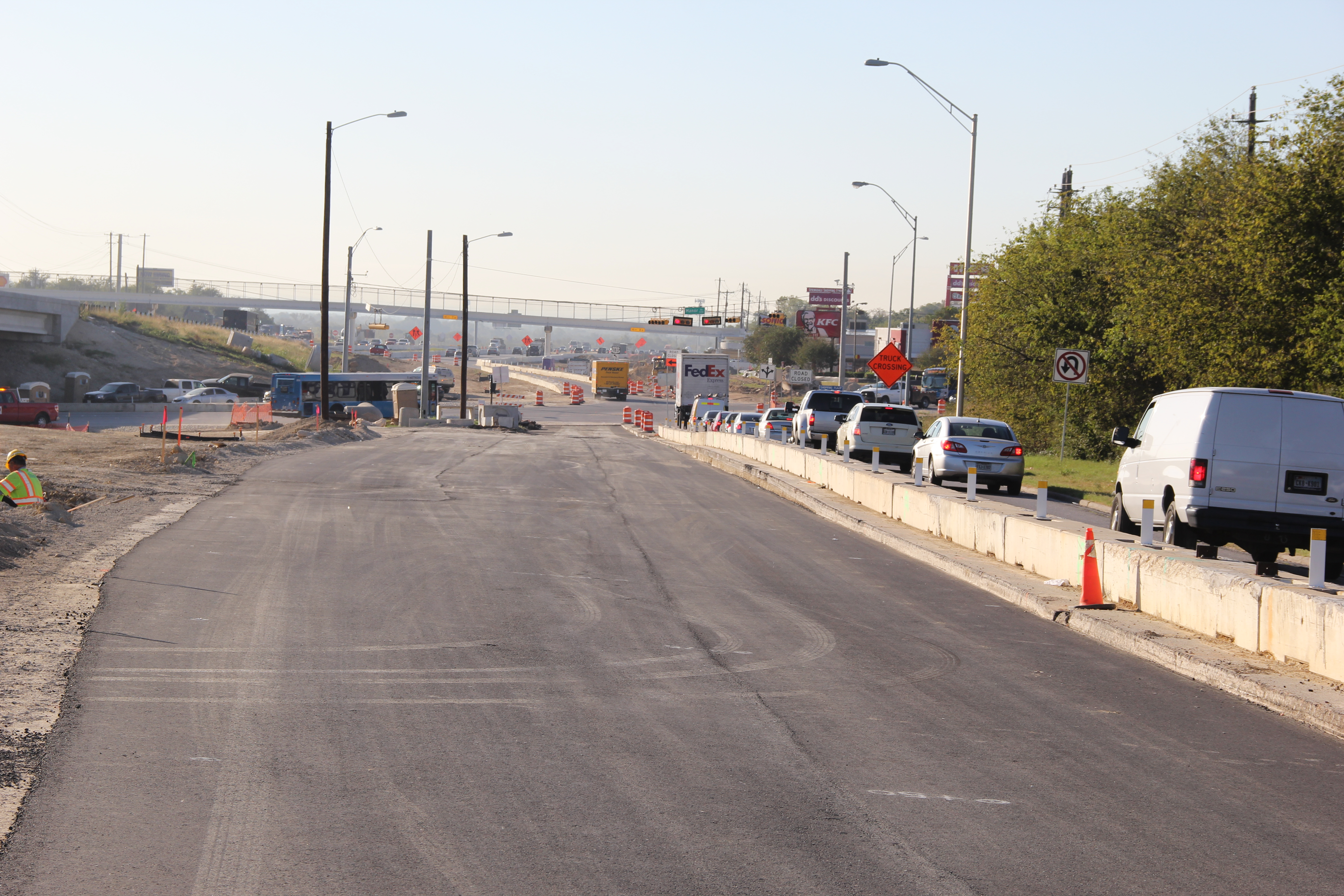Asphalt Base for Southbound General Purpose Lane Expansion at Springdale Road - October 28, 2016