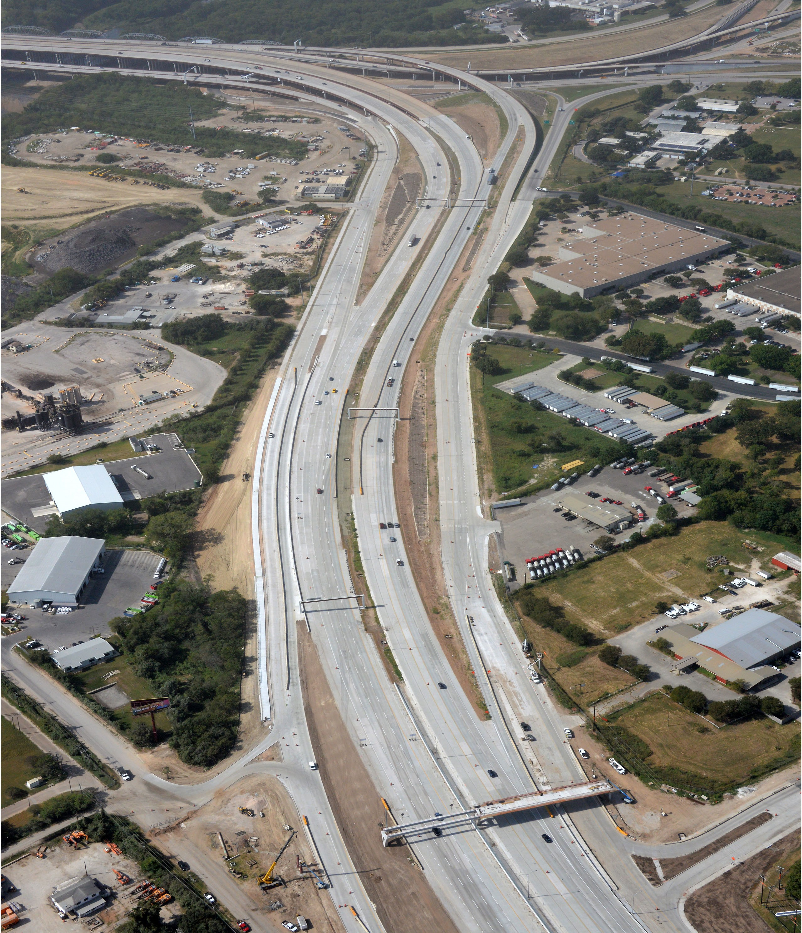 Aerial View of Bolm Road - Oct. 2020